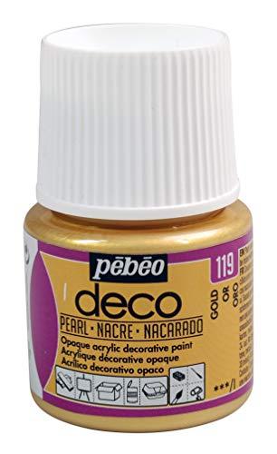 PEBEO Deco Pearl, Dorado, 45ml