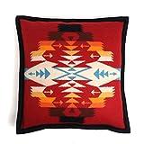 [ペンドルトン]PENDLETON ウール クッション XP505 53537枕 Pillow 枕 クッション Tucson スカーレットマルチカラー レッド[並行輸入品]