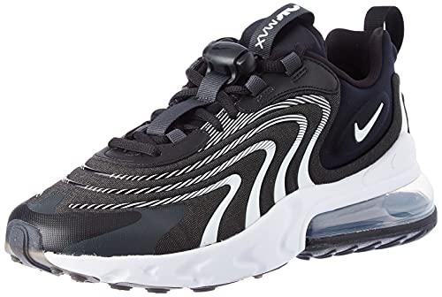 Nike Air MAX 270 React Eng, Zapatillas para Correr Hombre, Black White Dk Smoke Grey Wolf Grey, 41 EU