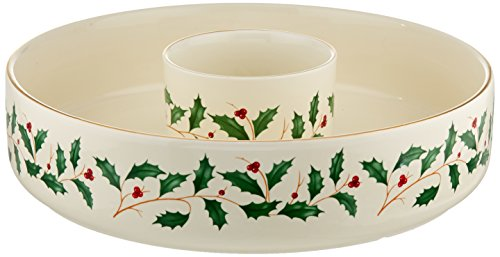 Great Deal! Lenox 869999 Holiday Chip & Dip Set