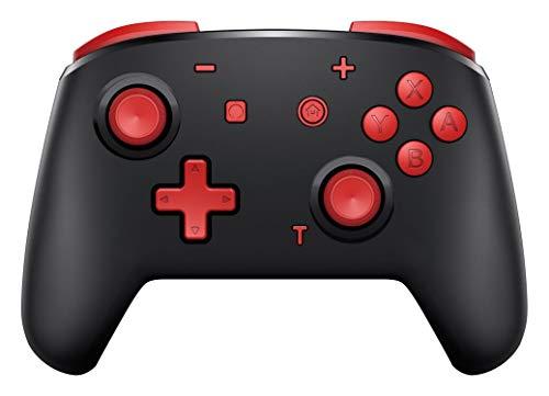 momen Mando Inalámbrico para Nintendo Switch Wireless Bluetooth Pro Switch Mando con Dos Motores/ Función Turbo/Vibración Ajustable/Giroscopio para Nintendo Switch/Lite
