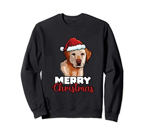 Merry Christmas Labrador Retriever Amor De Perro Regalo Sudadera