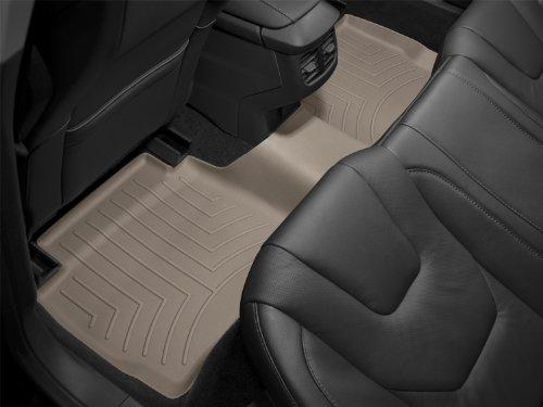 WeatherTech Custom Fit Rear FloorLiner for Toyota Sequoia, Tan - 450443