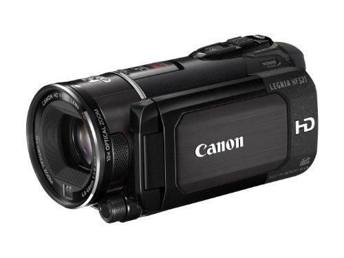 Canon LEGRIA HF S21 AVCHD-Camcorder (Dual-Flash-Memory, 10-fach opt. Zoom, 8,8cm (3,5 Zoll) Display) schwarz