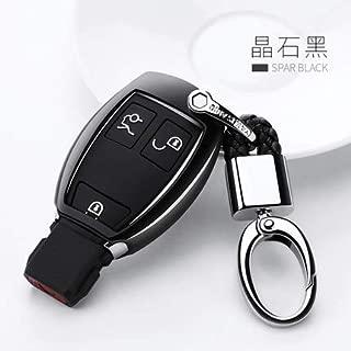 Transporter-Space - Car Keychain Keyrings+TPU Soft Car Key Cover Case Shell for Mercedes Benz W203 W210 W211 W124 W202 W204 W205 AMG car styling