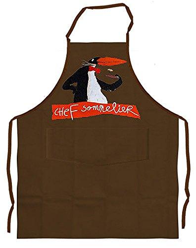 Alma Mater Tablier de Cuisine Penguin Sommelier