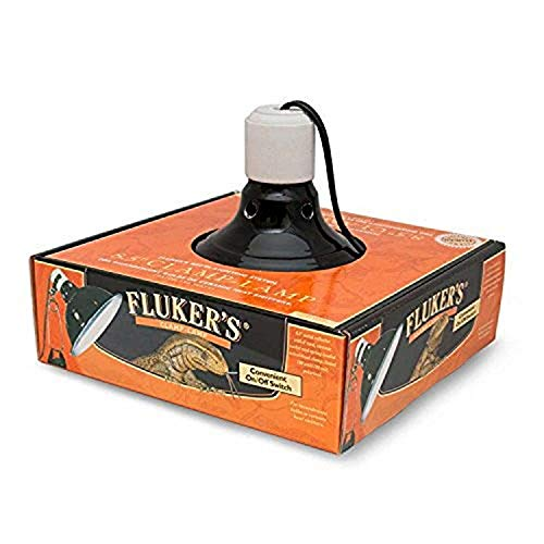 Fluker's Repta-Clamp Lamp with Switch for Reptiles ( Packaging May Vary )