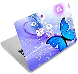 "affodable Laptop Skin Sticker 12 ""13"" 13.3 ""14"" 15 ""15.4"" 15.6 ""Laptop Skin Sticker Art Decal Protector Notebook PC Cover (Butterfly)"