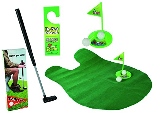 Out of the blue 59/2049 Toiletten Golf Set, 6-teilig, Golfschläger, circa 62 cm