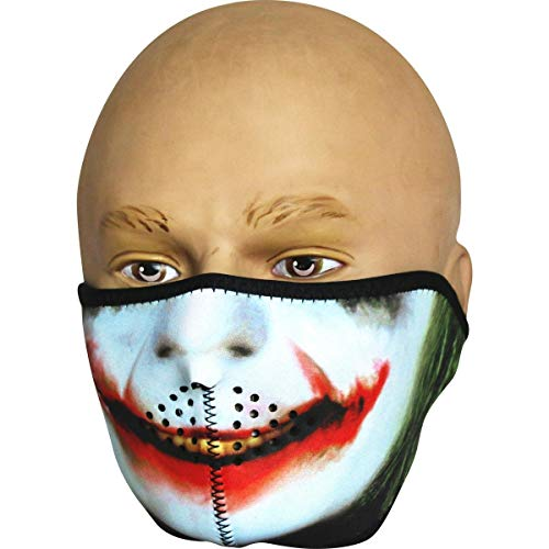 Viper TACTICAL - Halbgesichtsmaske aus Neopren - Totenkopf - Joker