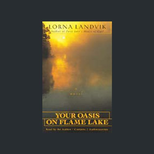 Your Oasis on Flame Lake audiobook cover art