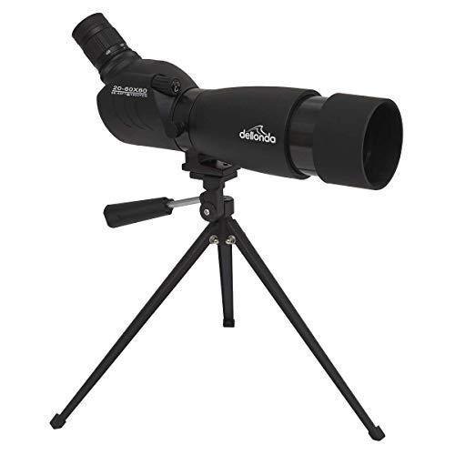 Dellonda Porro Prism 20x-60x BAK4 Spotting Scope, Waterproof & Fogproof - DL5