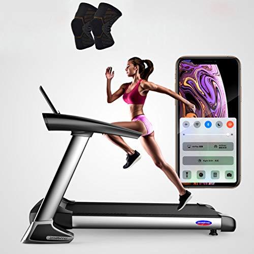 MG REAL Laufband Tragbare Elektrische Ausrüstung Noise Reduction Motorisierte Laufende Maschine Für Home Gym 264 Lbs Gewicht Kapazität,M Size Knee Pads