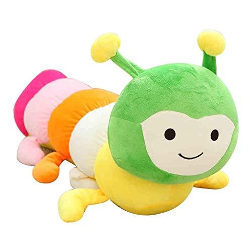 WJTMY Plüschtier, Dekokissen, Geschenke, Cartoon Multicolor Plüsch Spielzeug Dekokissen Kissen-Kind-Geschenk (Farbe: Grün) (Size : 60cm)