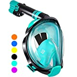 WSTOO Full Face Snorkel Mask,Advanced Safety Breathing System Allows...