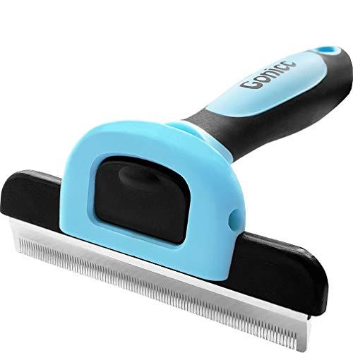 gonicc Professional Dog and Cat Brush for Shedding, Ideal Deshedding Tool,...