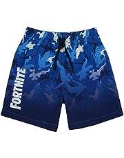 Fortnite zwemshort voor jongens   Lichte OF Donkerblauwe Gamerzwembroek