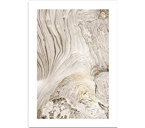 JXMK Paisaje Natural escandinavo Cartel de Arte de Pared Lago de montaña Barco Pintura Decorativa nórdica Imagen Moderna decoración del hogar 40x50 cm sin Marco