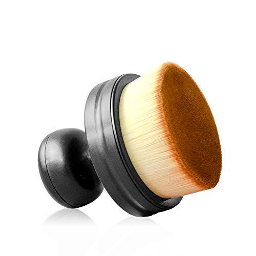 Fondation Pinceau de Maquillage Grande Couverture Complète Poils Durs Base Multifonctionnelle Plateau Plat Kabuki Pinceaux de Maquillage Parfait pour Mélanger Crème Fond de Teint Cosmétiques Livré