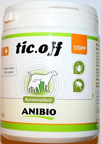Anibio Tic-Off 500g gegen Zecken und Flöhe/Einfach übers Futter geben