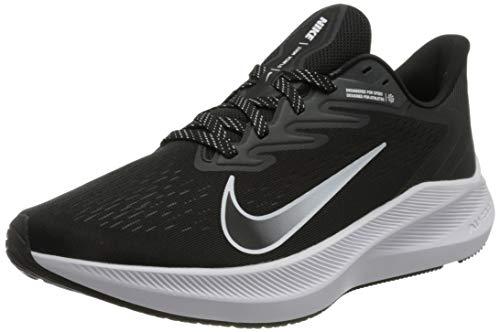 Nike Air Zoom Winflo 7, Scarpe da corsa Donna, Nero (black/white-anthracite), 39 EU