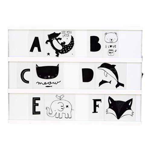 Lightbox Letter Set de lettres ABC Noir