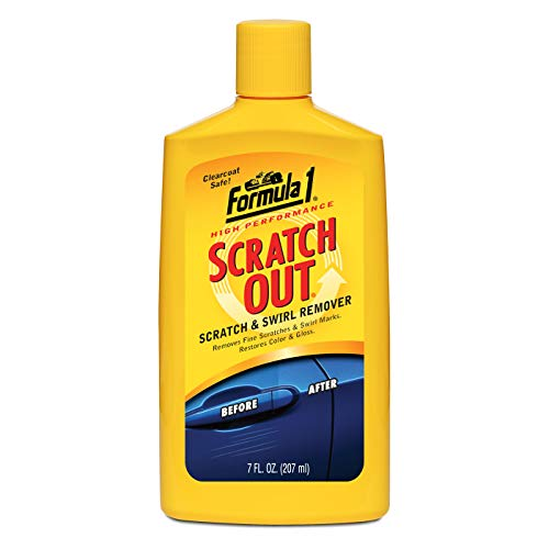 Formula 1 Scratch Out Scratch & Swirl Remover for Cars & Bikes (615011)