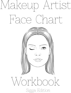 Makeup Artist Face Chart Workbook Sigga Edtion