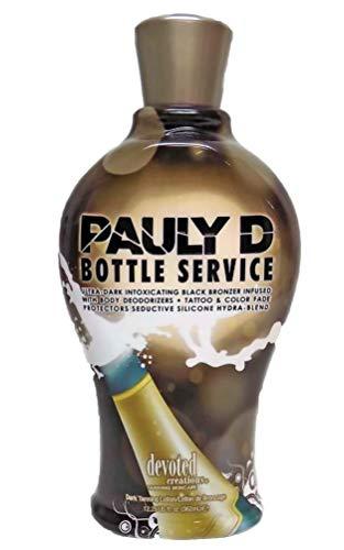 Devoted Creations Pauly D Bottle Service Tanning Lotion 12.25 Ounce