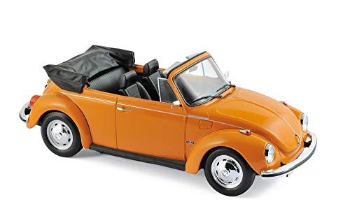 Norev nv188521 1 1: 18 1972 Volkswagen 1303 Cabriolet, Orange