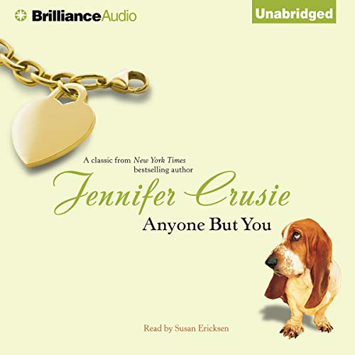 Anyone But You audiobook cover art