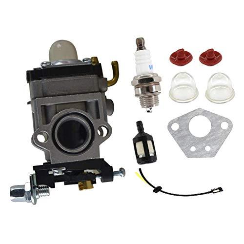 MENGHE TANGZHOU Kit Línea de Combustible de carburador de 15 mm Ajuste para 43cc 52cc 40-5 BC430 CG430 CG520 1E40F-5 44F-5 Cepillo de Motor Trimmer (Color : Black)