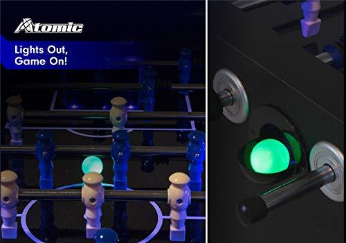 ATOMIC Azure à LED Table de...