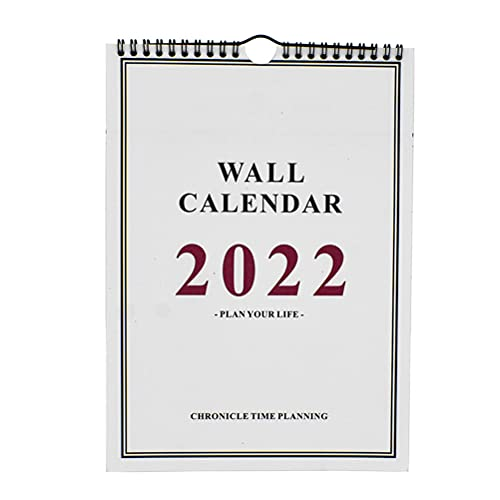 STOBOK 1Pc Calendario Murale Accademico 2021-2022 16 Mesi Settembre 2021 - Dicembre 2022...