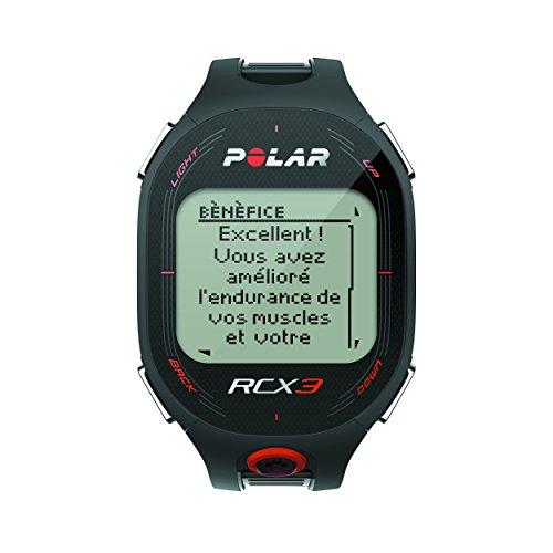 Polar RCX3 - Reloj con pulsómetro compatible con GPS, sensor de zancada...
