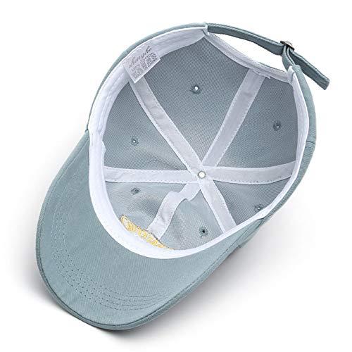XMYNB Baseball Cap Baseball Cap For Women And Men Embroidery Hats Casual Snapback Hat Cotton Cap Hip Hop Caps Unisex-Brick Red,Adjustable