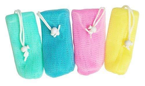 Hilpert 4X Seifenbeutel für Seifenreste, Seifenrestebeutel