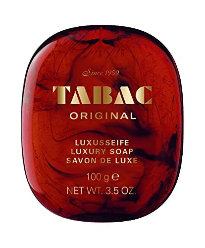 Tabac® Original | Luxusseife - von feinster Qualität - mild - große Schaumfülle - Original Seit 1959 | 100g