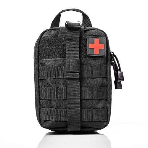 Bolso del paquete de la cintura Las bolsas tácticos - Herramienta de Supervivencia táctico de Molle kits de primeros auxilios Bolsa Army Medical emergencia al aire libre Caza autocaravana Militar de E