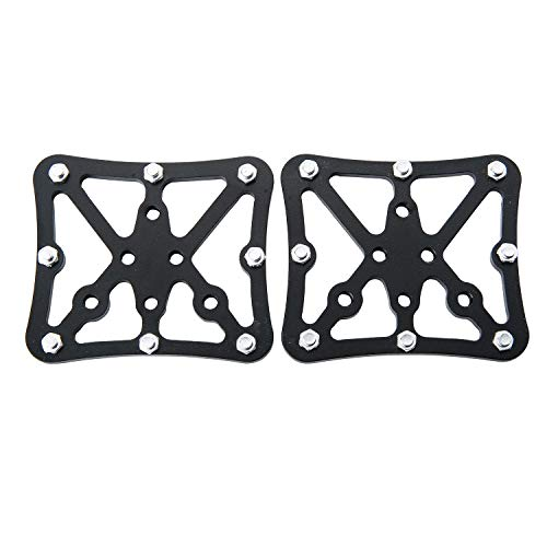 JVSISM Universal Bicycle Pedal Platform Cycling Aluminum Alloy Clipless for SPD Bicycle Parts
