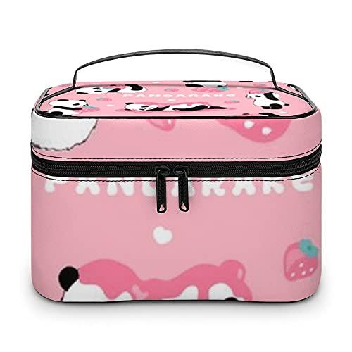 Bolsa de aseo de color naranja, impermeable, bolsa de viaje con cremallera, organizador de maquillaje, bolsa de maquillaje para aparador, baño, hombres y mujeres, Blanco-estilo-8, 25x18x15cm,