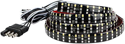 MIHAZ LED Tailgate Light Bar 60 Triple Row 5 Function Strip Light No Drill Install product image