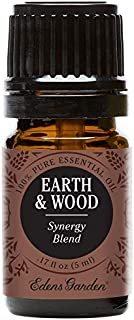Edens Garden Earth & Wood Essential Oil Synergy Blend, 100% Pure Therapeutic Grade (Highest Quality Aromatherapy Oils- Eczema & Skin Care), 5 ml