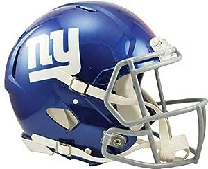 Riddell New York Giants Revolution Speed Full-Size Authentic Football Helmet - NFL Authentic Helmets