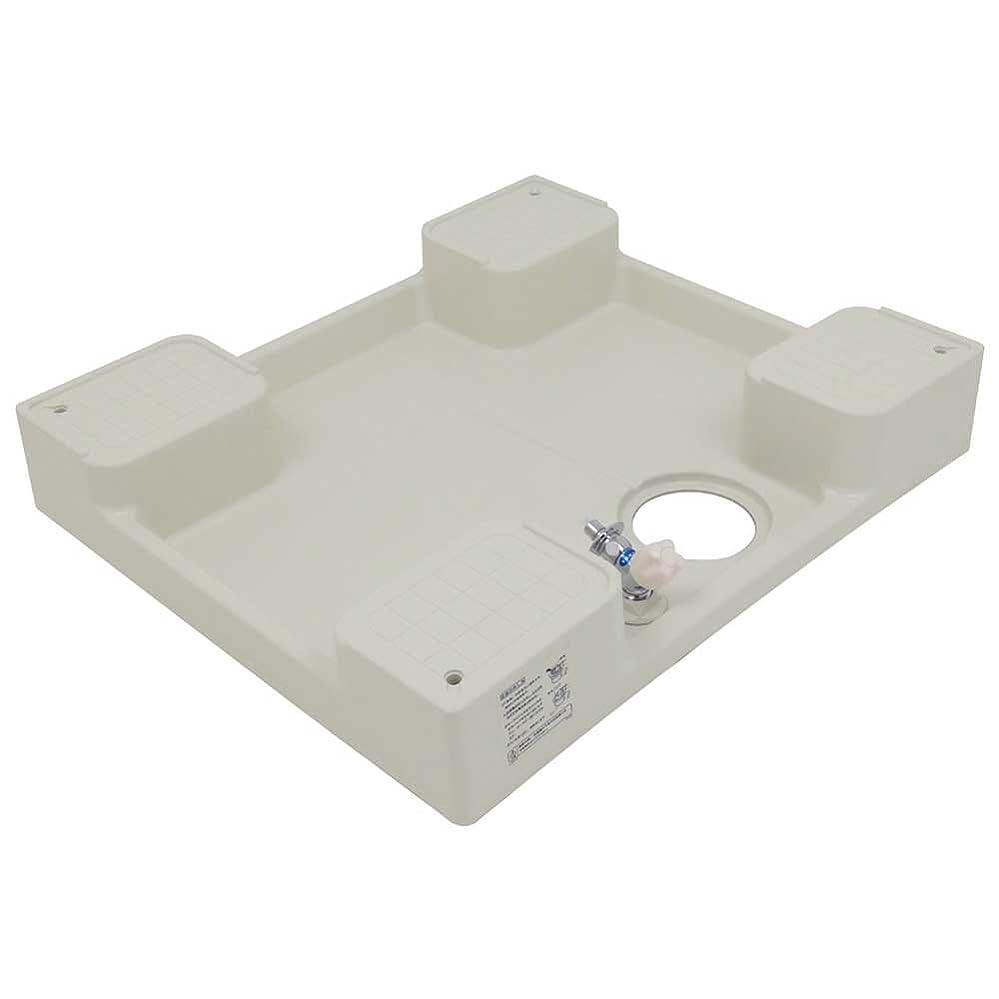 使用法重さ市民権カクダイ 洗濯機用防水パン 水栓つき 426-502