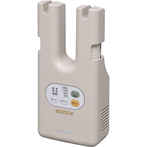 アイリスオーヤマ 靴乾燥機 ダブルノズル オゾン 脱臭 SDO-C1-C