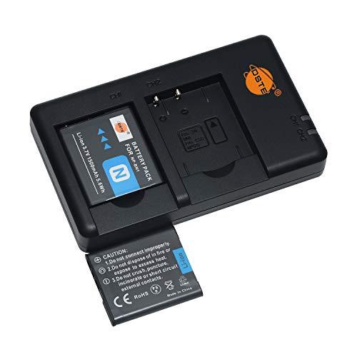 NP-BN1 - Batería recargable de repuesto y cargador dual compatible con Sony Cyber-Shot DSC-W510 DSC-W515PS DSC-W500 DSC-W520 DSC-WX80 DSC-WX150 DSC-QX10 DSC-TX7 etc.