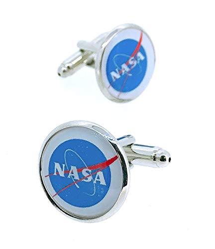 Gemelolandia   Gemelos para Camisa NASA Gemelos Originales Para Camisas   Para Hombres y Niños   Regalos Para Bodas, Comuniones, Bautizos y Otros Eventos