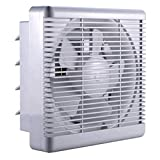 GAXQFEI Kitchen Windows Air Exchanger Ventilation Fan - Booster Duct Fan Axial Fan, Intake Exhaust Inline Ventilation Fans for House in Hose to Keep Fresh Air Circulating