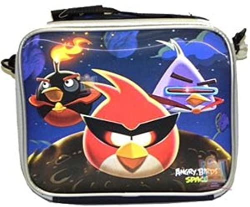 Angry Bird Space 3D Holographic Insulated Lunch Bag
